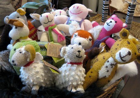 Product of the Week Our Peruvian Hand-Knit Stuffed Animals