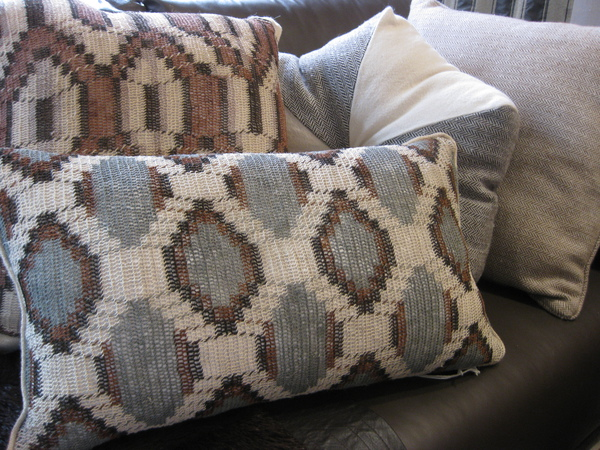 Product of the Week Rich and Unique Natural Fiber and Llama Wool Pillows