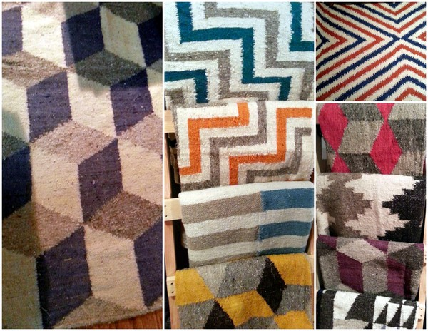 Product of the Week Our Hand Loomed Wool Carpets from Guatemala