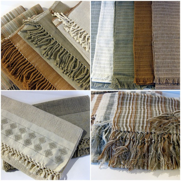 Product of the Week Our Collection of Organic Cotton Scarves Shawls and Table Runners from Guatemala
