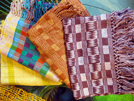 Product of the Week Handmade Organic Cotton Scarves made in Guatemala