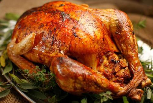 Food and Drink Latin Inspired Thanksgiving Recipe 1- Pavochograven Roasted Turkey
