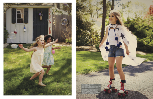 See Our Argentine quotTulmasquot Pompoms in UK Magazine quotbaby amp mequot