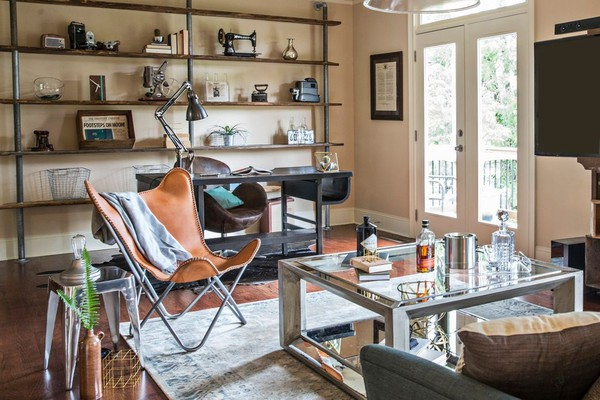 Get The Look A Wordly Bachelor Pad