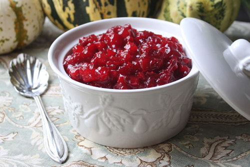 Food and Drink Latin Inspired Recipe 4- Cranberry Passion Fruit Sauce