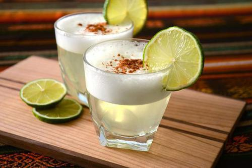 Food and Drink Pisco Sour Cocktails