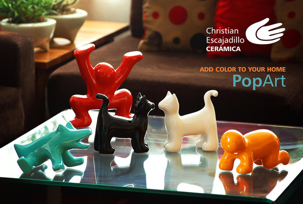 Product of the Week Our Keith Haring Inspired Ceramic Scupltures