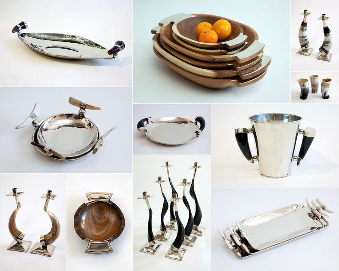 New collection Alpaca silver tabletop accessories.  Check it out